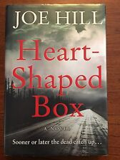 Heart Shaped Box By Joe Hill - 1st Printing - 1st Edition - Debut Novel 2007