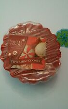 YANKEE CANDLE TART PEPPERMINT COOKIES  COMBINED SHIPPING HUNDREDS LISTED