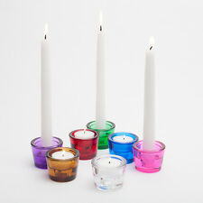 Richland Tealight and Taper Candle Holder Multi-Use Set of 72 Home & Event Decor