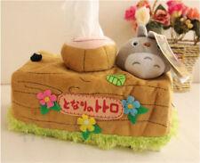 My Neighbor Totoro Plush Toy Tissue Box Napkin Holder Home Car Decor Lovely