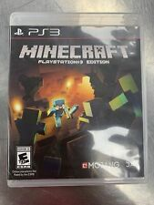 Minecraft Playstation 3 Edition Disc and Case Good Condition Tested Ps3
