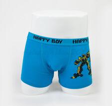 5pc Size 5 4-6 years Comfort Cotton Boys Boxers Briefs Robot Kids Underwear