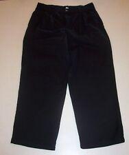 Boy's George Pleated Black Cotton Dress Pants 14 Husky