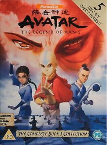 AVATAR DVD - The Legend Of Aang - The Complete Book 1 Collection -R2 - Free Post