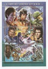 "STAR WARS THE EMPIRE STRIKES BACK 5"" x 7"" REPUBLIQUE DU MALI MNH STAMP SHEET"