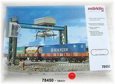 """Märklin Ergänzungspackung 78450 """"Containerterminal"""" passend zu 29450 #NEU in OVP"""