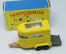 MATCHBOX SERIES * PONY TRAILER * 43 * OVP * 1968