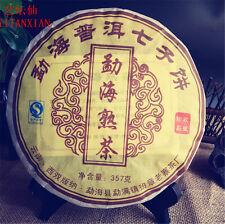Promotion 357g China Menghai Ripe puer tea puerh tea cake Black tea green food