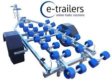 Extreme 750kg Wide Wheel JETSKI / Boat Trailer With Fast 28 Roller System