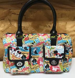 Disney Parks Mickey And Minnie Retro Handbag Satchel