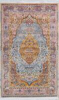 Vintage Style Floral Turkish Distressed Design Heat-Set Area Rug Oriental Carpet