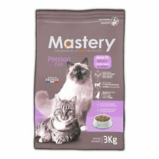 Mastery Comida para Gatos Adulto PECES, Comida Seca Para Adultos Gatos - 3kg