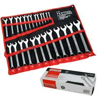 TecTool 25pc Matt Finished Metric Combination Spanner Wrench Set 6mm - 32mm