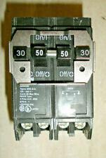 New Quad Circuit Breaker 230/250 Bq230250 type Brd 2 pole 30 and 50 amp