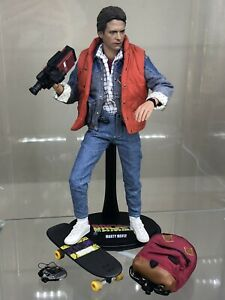 MARTY MCFLY Back to the Future BTTF Hot Toys 1/6 Scale Action Figure