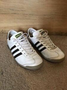 Men's Retro Adidas The Sneeker White/Brown UK Size 7