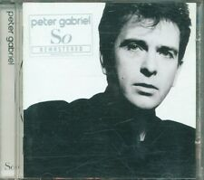 Peter Gabriel - So Remastered Con Sticer Cd Ottimo