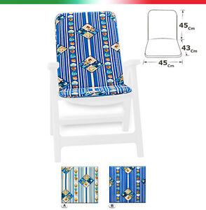 Cushion Cover Chair Garden Sdeckchair Stripe Marine Armchair Sitting Pool Home