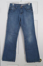 DKNY SOHO Jeans Light Wash Boot Cut Stretch Nice Stitching  Women's Size 6