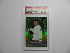 2011 Finest #66 J.P. Arencibia  Green Refractor  RC  PSA 9  POP 1  only 1 graded