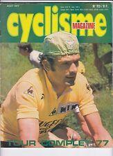 1977 l'equipe cyclisme n°113 TOUR DE FRANCE 77 THEVENET TOUTES LES ETAPES