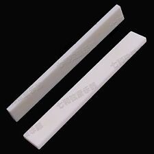 5Pc Bone Guitar String Bridge Saddle Blank for Acoustic Classical Guitar 80x3x10