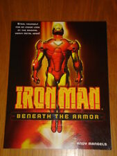 IRON MAN BENEATH THE ARMOR MARVEL ANDY MANGELS GRAPHIC NOVEL 9780345506153