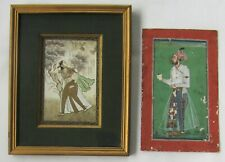 Two Antique Indian Company School Paintings-NR