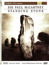 PAUL MCCARTNEY standing stone  DVD  NEU OVP/Sealed