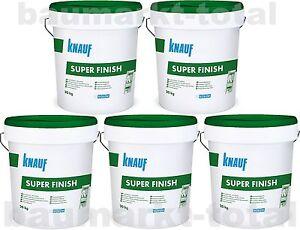Knauf Super Finish 5x20kg Spachtelmasse für Trockenbau SHEETROCK Fugenspachtel