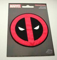 Official Marvel Comics Deadpool Logo Cloth Jacket Patch New 2016 Iron-On