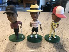 Tiger Woods Upper Deck Bobblehead Lot Tiny Champ Major Force Am Sensation