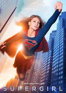 Supergirl Melissa Benoist Wall Art / Poster Print A4 260gsm