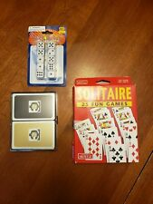 playing cards & dice