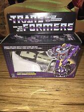 Transformers Vintage G1 Reissue Astrotrain Triple Changer Walmart Exclusive Misb