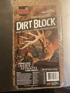 Dried Molasses Dirt Block 5lb  Block