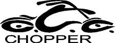 """Motorcycle Chopper VINYL decal / sticker 3"""" x  8"""" Many Colors FREE US SHIP"""