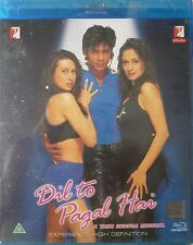 Dil To Pagal Hai - Bollywood Movie Blu-ray + DVD with Special Features.