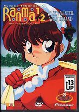 Ranma 1/2: Random Rhapsody (S6) Vol. 5 - Wacky Winter Wonderland (DVD, 2001)