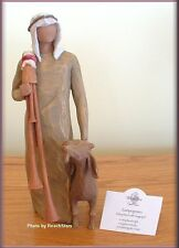 ZAMPOGNARO NATIVITY SHEPHERD WITH BAGPIPE FROM WILLOW TREE® FREE U.S. SHIPPING