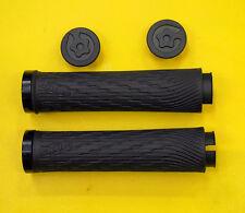 Sram Locking Grips for XX/X0 Grip Shift, Full Length 122mm, Black Clamp