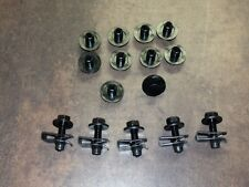 Front Splash Shield Repair Kit Clips, Bolts Bumper Shield Fits Altima, Maxima