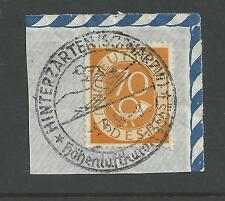 WEST GERMANY # 683 Used POST HORN NUMERAL