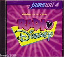 Walt Disney Radio Jams Volume 4 CD Classic Great Childrens Hits Myra Mandy Moore