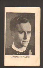 PROFESSEUR FAUSTIN / ASTROLOGIE & VOYANCE / Carte Postale-Prédictions en 1943