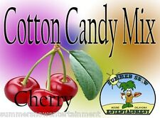 CHERRY COTTON CANDY FLAVOR mix w/ SUGAR FLAVORING FLOSSINE FLAVORED FAIRY FLOSS