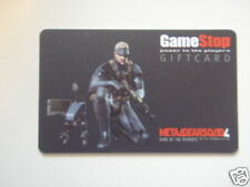 CARTA METAL GEAR SOLID 4 PLASTIFIED TIPO PATENTE SNAKE