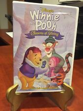Disney's Winnie the Pooh: Seasons of Giving (DVD, 1999) TGiving & CMAS/Mfg Seal