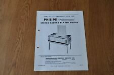 Philips NG5166 Philharmonic Record Player Workshop service manual NG 5166