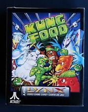 KUNG FOOD  Atari LYNX New Sealed Complete
